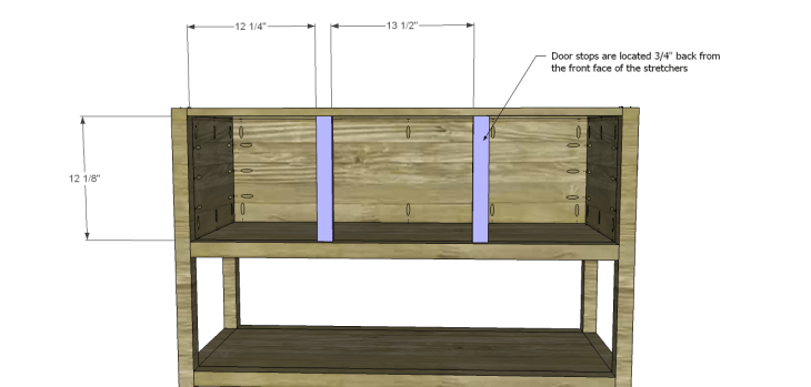 ronen sideboard plans-Door Stops