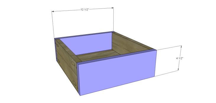 ronen sideboard plans-Drawer FB