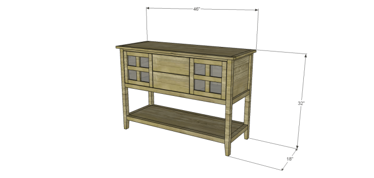 ronen sideboard plans