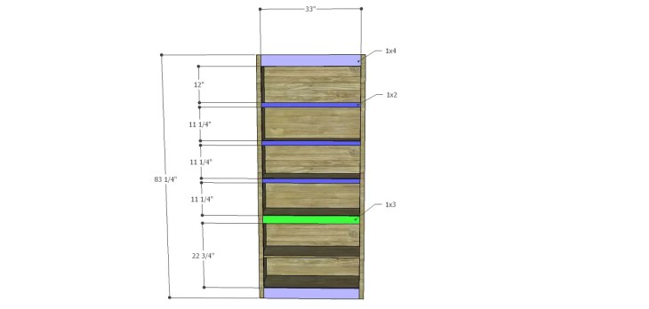 Harrison Cabinet Plans-Face Frame