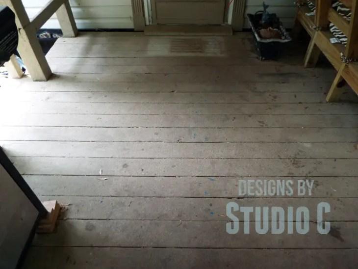 Deck Restore Review Revisited - Front Door