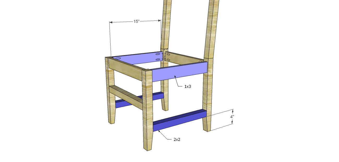 Build a daniela dining chair for Simple dining chair designs