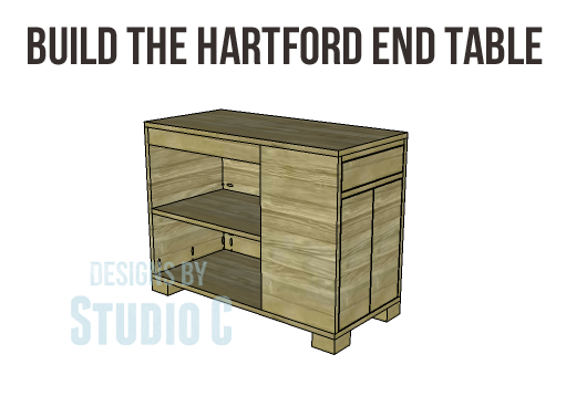 Hartford End Table Plans-Copy