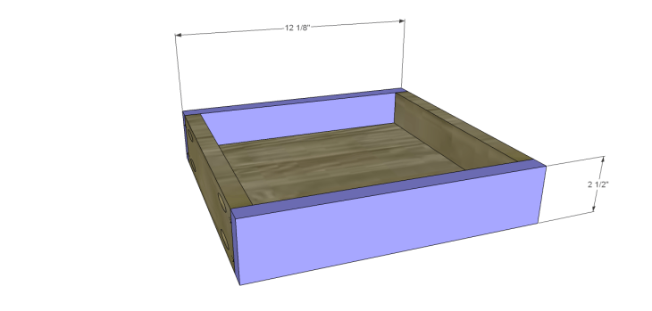 Plans to Build a Space Saving Table and Stools-Drawer FB