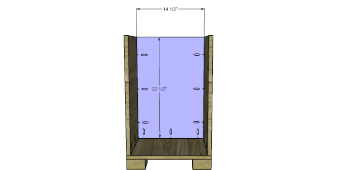 Hartford End Table Plans-Small Cabinet Back