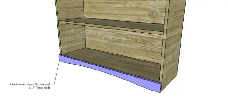 Biltmore Cabinet Plans-Lower Trim2