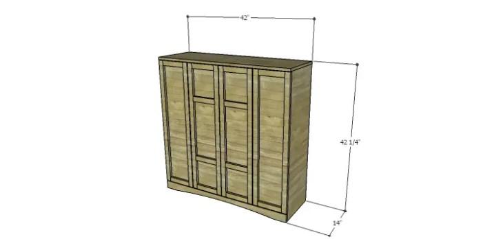 Biltmore Cabinet Plans