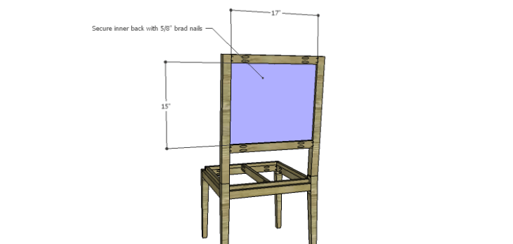 Luna Dining Chair Plans-Inner Back
