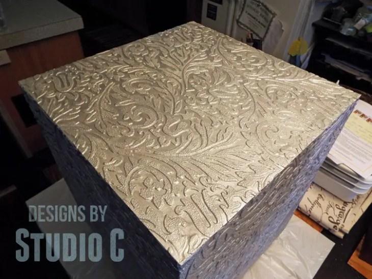 Plans to Make a Faux Metal End Table DSCF1648