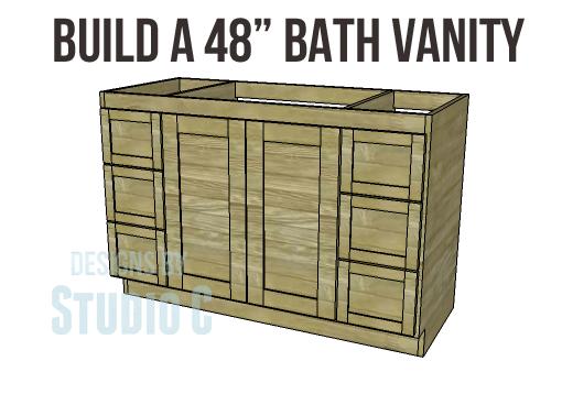 Build a 48 Bath Vanity