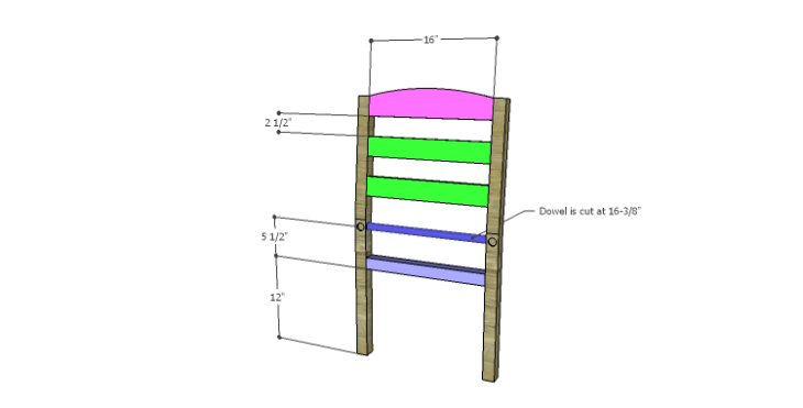DIY Plans to Build a Splint Seat Chair-Back Frame 2