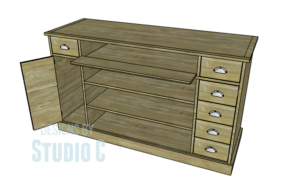 DIY Plans to Build a Kemper Media Console-Copy2
