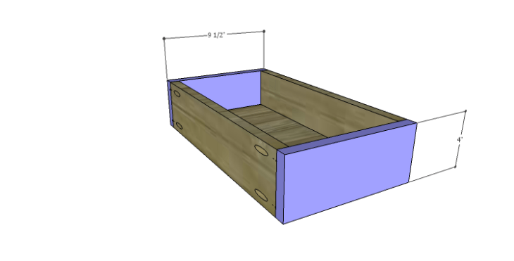 DIY Plans to Build a Kemper Media Console-Drawer FB