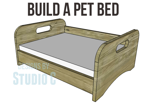 Build a place for your furry friend to nap for Build a dog bed