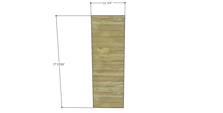 DIY Plans to Build a Howell Bar Cabinet_Door & Drawer Front 1