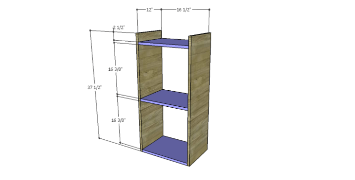 DIY Plans to Build a Howell Bar Cabinet_Drawer 1