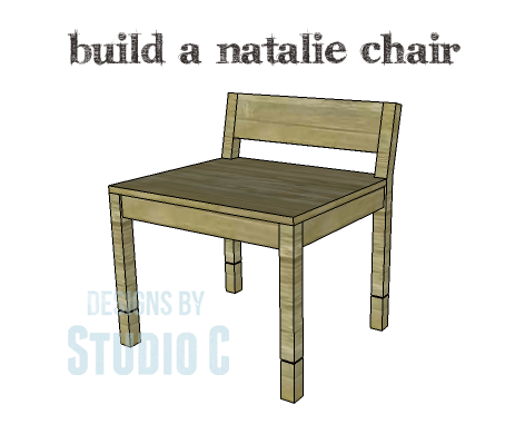A Collection of DIY Plans to Build Dining Chairs_Natalie Chair