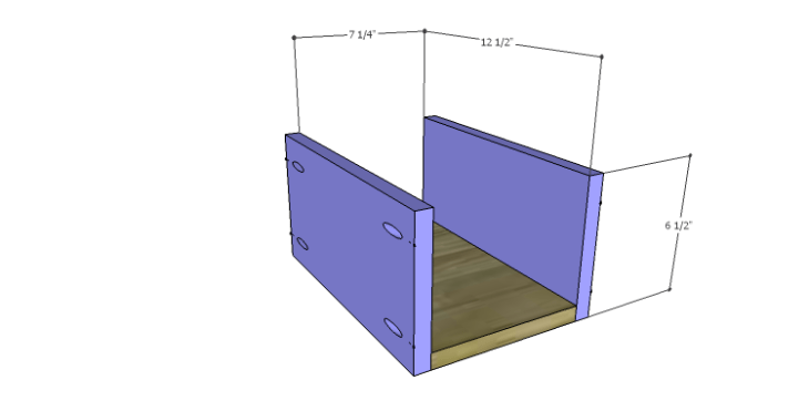 Plans to Build a Drake Chest_Top Center Drawer BS