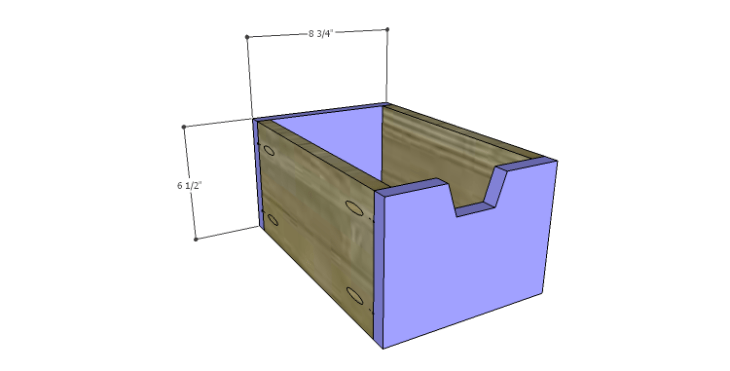Plans to Build a Drake Chest_Top Center Drawer FB