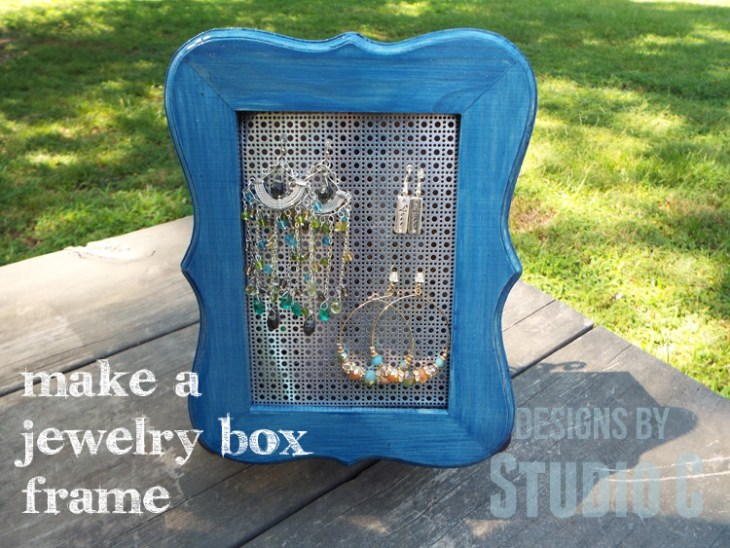 Jewelry Box Frame With Cabot Stain