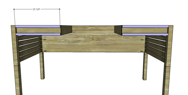 DIY Plans to Build a Mesa Desk-Apron Trim