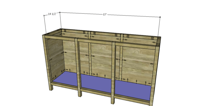 DIY Plans to Build an Alexander Sideboard_Bottom