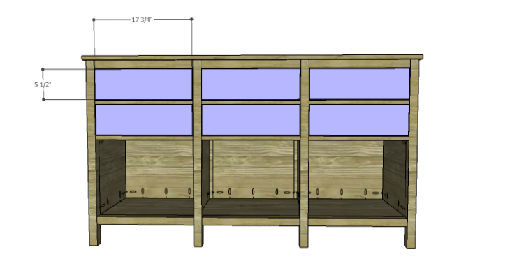 DIY Plans to Build an Alexander Sideboard_Drawer Fronts
