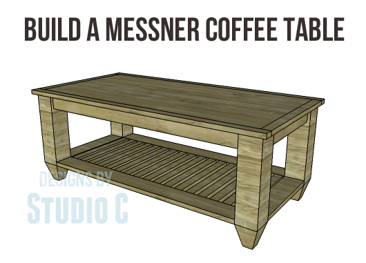 DIY Plans to Build a Messner Coffee Table-Copy