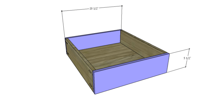 DIY Plans to Build a Morgan Coffee Table_Drawer FB
