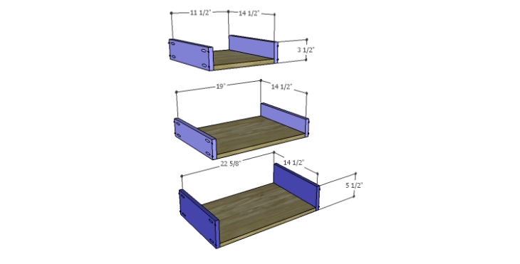 DIY Plans to Build an Edinburgh Console Table_Drawer BS