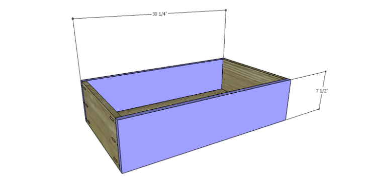 DIY Plans to Build a Serenity Dresser_Center Drawer FB