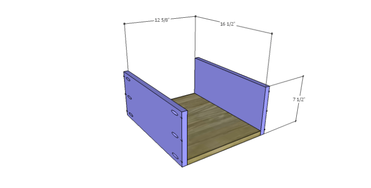 DIY Plans to Build a Serenity Dresser_Smaller Drawer BS