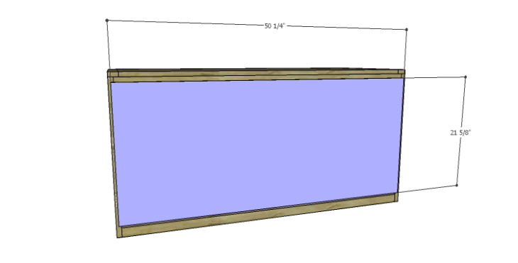 DIY Plans to Build a Piedmont Media Console_Back