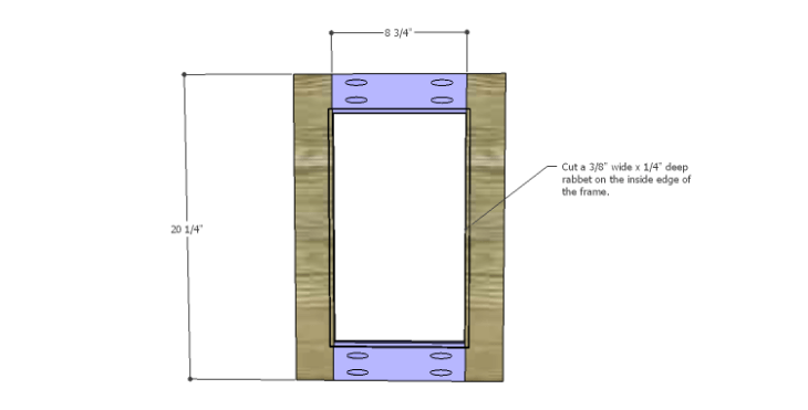 DIY Plans to Build a Piedmont Media Console_Doors 1