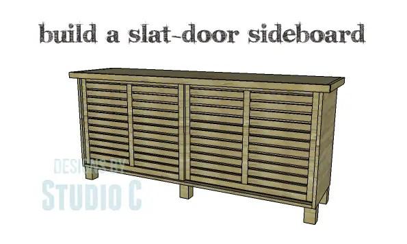 DIY Plans to Build a Slat-Door Sideboard_Copy