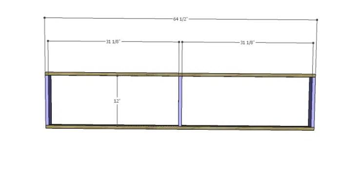 DIY Plans to Build a Slat-Door Sideboard_Shelf Frame 1