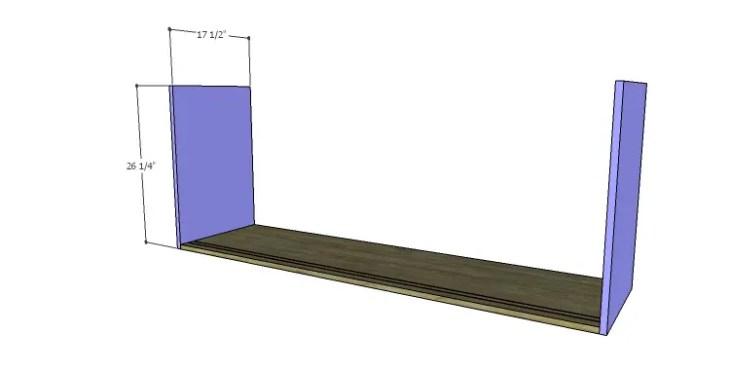 DIY Plans to Build a Slat-Door Sideboard_Sides