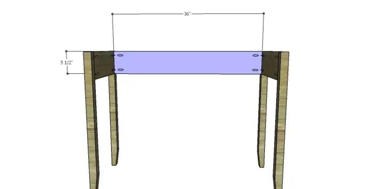 DIY Plans to Build a Magnolia Vanity Table_Back