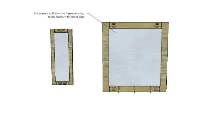 DIY Plans to Build a Magnolia Vanity Table_Mirror 2