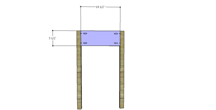 DIY Plans to Build a Magnolia Vanity Table_Sides
