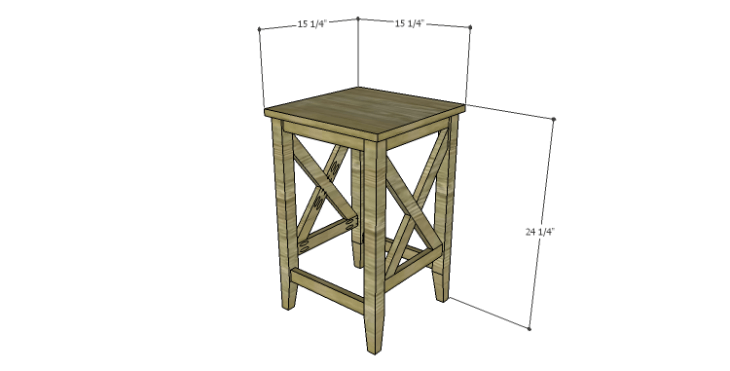 DIY Plans to Build a McKenzie Bar Stool