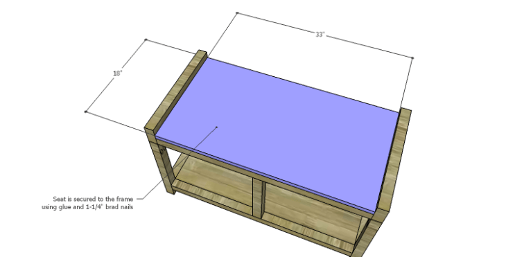 DIY Plans to Build a Laura Storage Bench_Seats