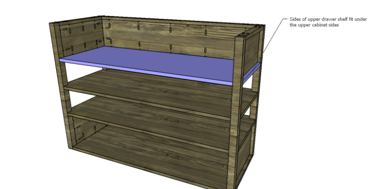 DIY Plans to Build a River Crest Media Chest_Upper Shelf