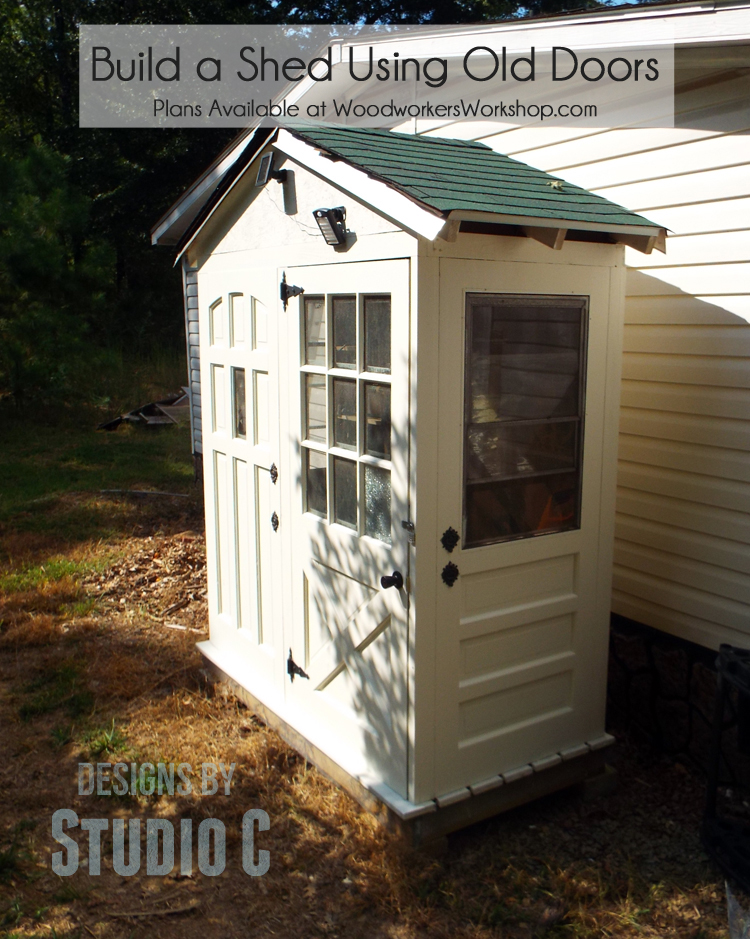 A Really Cool Shed with a Twist