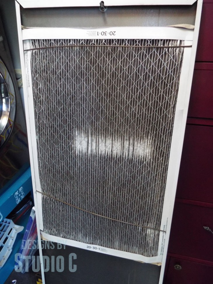 Changing a Furnace Filter with 3M Filtrete inside