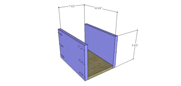 DIY Plans to Build a Mismatched Dresser_Drawer 1 BS