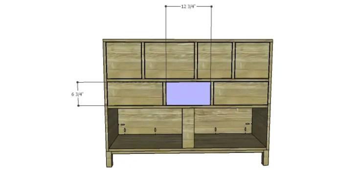 DIY Plans to Build a Mismatched Dresser_Drawer Front 4