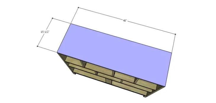 DIY Plans to Build a Mismatched Dresser_Top