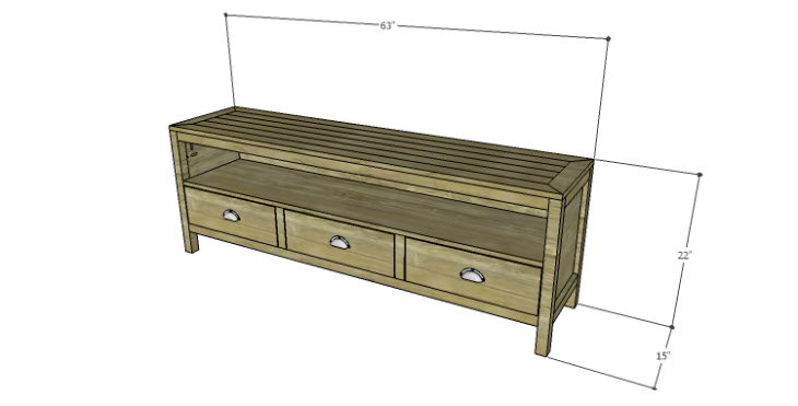 DIY Plans to Build a Jamie Media Console