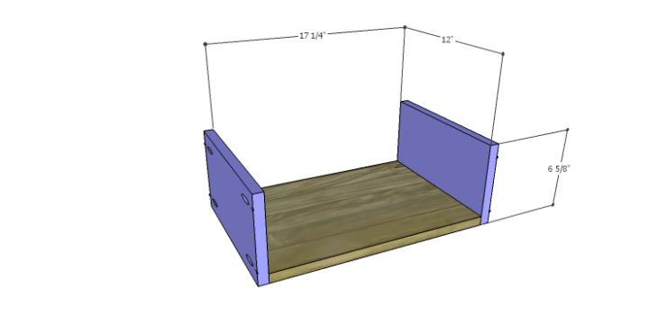 DIY Plans to Build a Jamie Media Console_Drawer BS